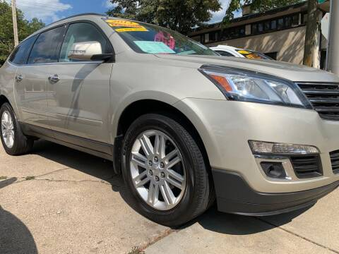 2014 Chevrolet Traverse for sale at AMERICAN AUTO in Milwaukee WI