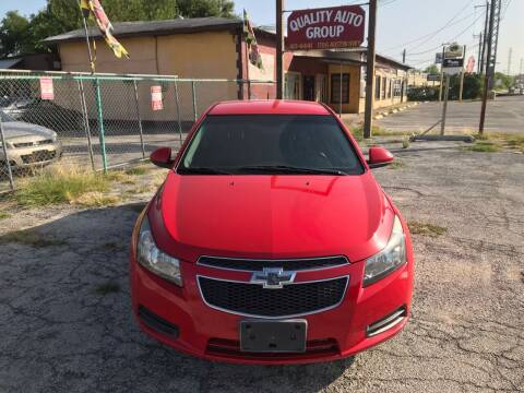 2014 Chevrolet Cruze for sale at Quality Auto Group in San Antonio TX