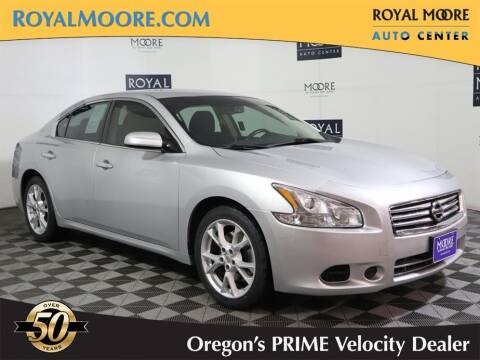 2012 Nissan Maxima for sale at Royal Moore Custom Finance in Hillsboro OR