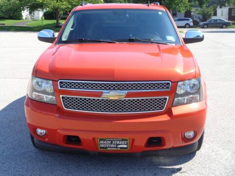 2009 Chevrolet Avalanche for sale at MAIN STREET MOTORS in Norristown PA