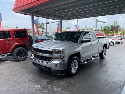 2017 Chevrolet Silverado 1500 for sale at American Auto Sales in Hialeah FL