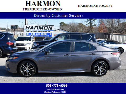 2020 Toyota Camry for sale at Harmon Premium Pre-Owned in Benton AR