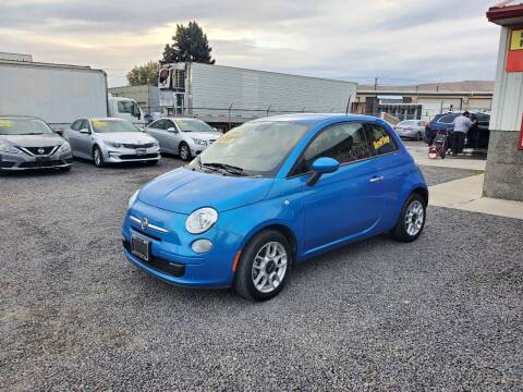 2015 FIAT 500 for sale at Yaktown Motors in Union Gap WA