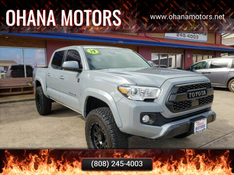 2019 Toyota Tacoma for sale at Ohana Motors - Lifted Vehicles in Lihue HI