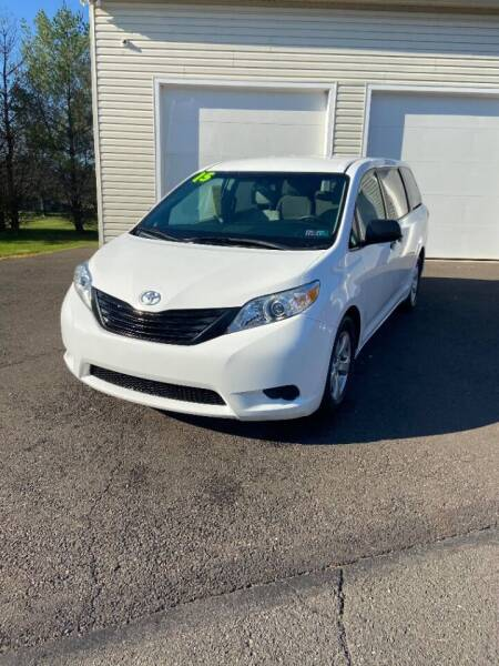 2015 Toyota Sienna for sale at Interstate Fleet Inc. Auto Sales in Colmar PA