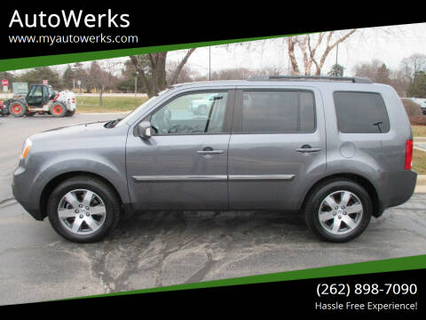 2015 Honda Pilot for sale at AutoWerks in Sturtevant WI