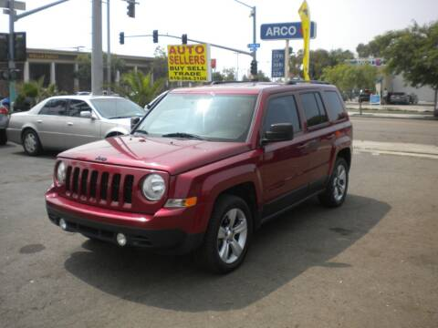 2014 Jeep Patriot for sale at AUTO SELLERS INC in San Diego CA