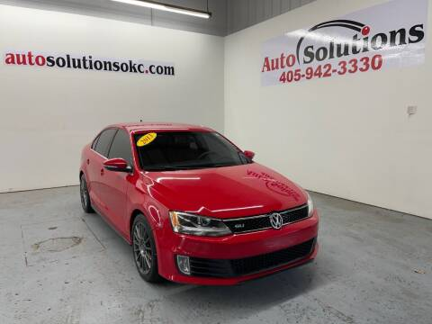 2013 Volkswagen Jetta for sale at Auto Solutions in Warr Acres OK