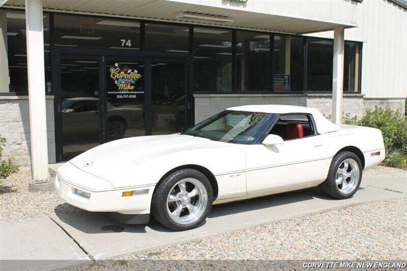 1986 Chevrolet Corvette for sale at Corvette Mike New England in Carver MA