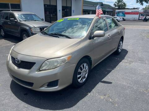 2009 Toyota Corolla for sale at The Strong St. Moses Auto Sales LLC in Tallahassee FL