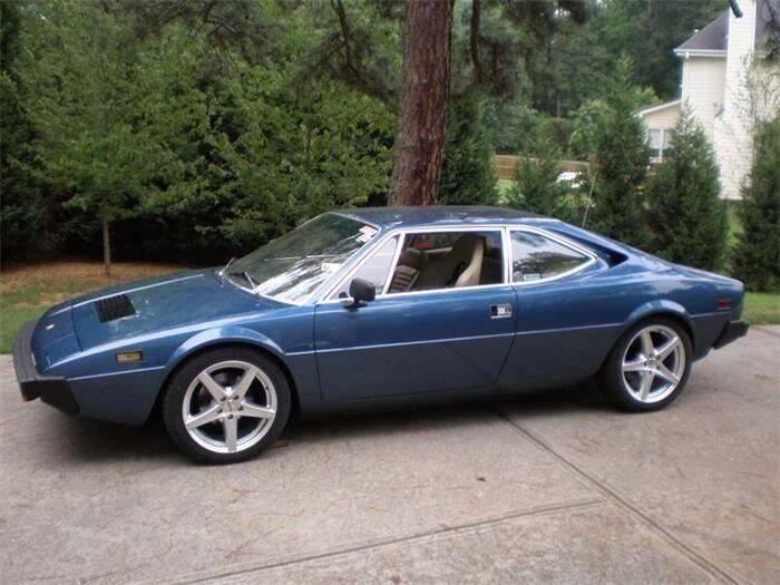 1976 Ferrari Dino 308GT4 for sale at Muscle Car Jr. in Alpharetta GA