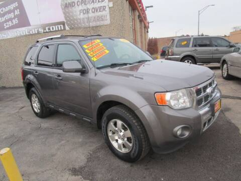 2012 Ford Escape for sale at RON'S AUTO SALES INC - MAYWOOD in Maywood IL