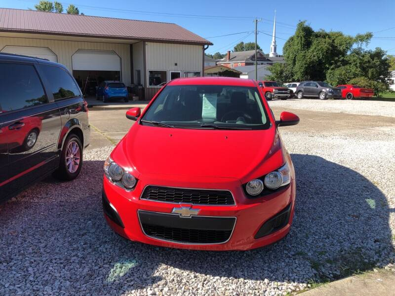 2015 Chevrolet Sonic for sale at ADKINS PRE OWNED CARS LLC in Kenova WV