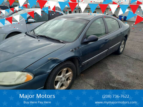 2002 Dodge Intrepid for sale at Major Motors in Twin Falls ID