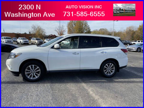 2015 Nissan Pathfinder for sale at Auto Vision Inc. in Brownsville TN