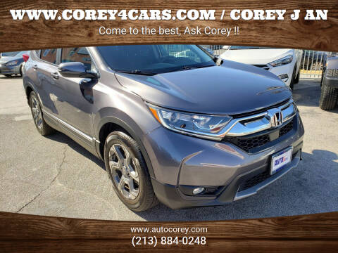 2018 Honda CR-V for sale at WWW.COREY4CARS.COM / COREY J AN in Los Angeles CA