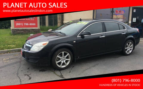 2009 Saturn Aura for sale at PLANET AUTO SALES in Lindon UT