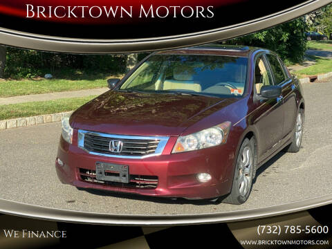 2009 Honda Accord for sale at Bricktown Motors in Brick NJ