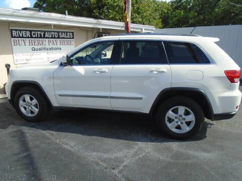 2012 Jeep Grand Cherokee for sale at River City Auto Sales in Cottage Hills IL