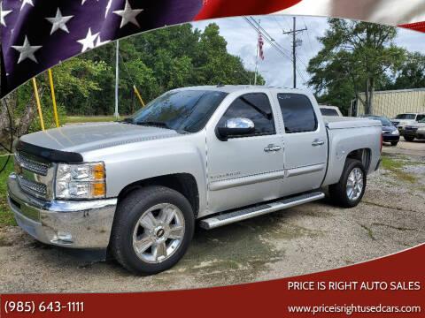 2013 Chevrolet Silverado 1500 for sale at Price Is Right Auto Sales in Slidell LA