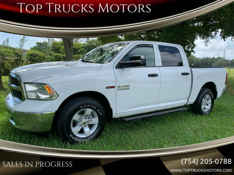 2016 RAM Ram Pickup 1500 for sale at Top Trucks Motors in Pompano Beach FL