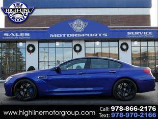 2016 BMW M6 for sale at Highline Group Motorsports in Lowell MA