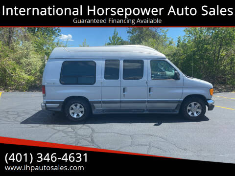 2004 Ford E-Series Cargo for sale at International Horsepower Auto Sales in Warwick RI