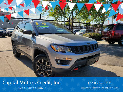 2019 Jeep Compass for sale at Capital Motors Credit, Inc. in Chicago IL