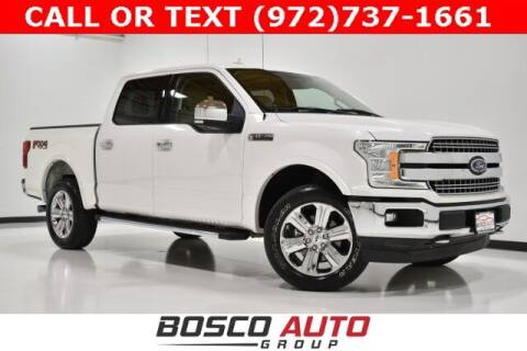 2018 Ford F-150 for sale at Bosco Auto Group in Flower Mound TX