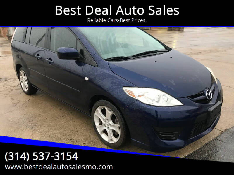 2008 Mazda MAZDA5 for sale at Best Deal Auto Sales in Saint Charles MO