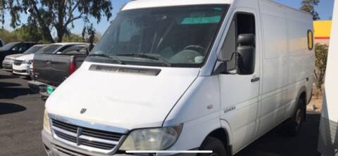 2006 Dodge Sprinter Cargo for sale at EV Auto Sales LLC in Sun City AZ