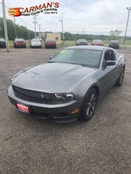 2012 Ford Mustang for sale at Carmans Used Cars & Trucks in Jackson OH