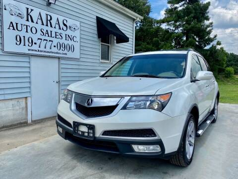 2013 Acura MDX for sale at Karas Auto Sales Inc. in Sanford NC
