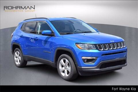 2018 Jeep Compass for sale at BOB ROHRMAN FORT WAYNE TOYOTA in Fort Wayne IN