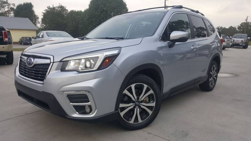 2019 Subaru Forester for sale at Crossroads Auto Sales LLC in Rossville GA