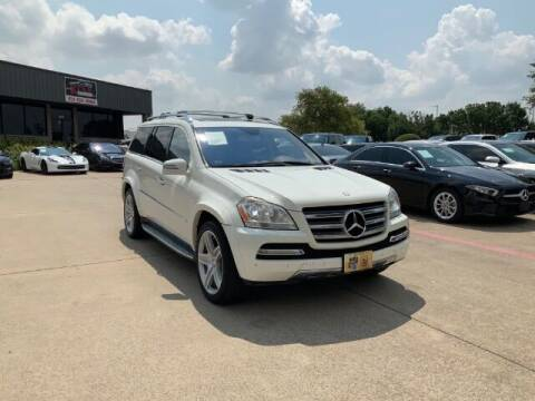 2012 Mercedes-Benz GL-Class for sale at KIAN MOTORS INC in Plano TX
