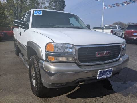 2000 GMC Sierra 2500 for sale at GREAT DEALS ON WHEELS in Michigan City IN