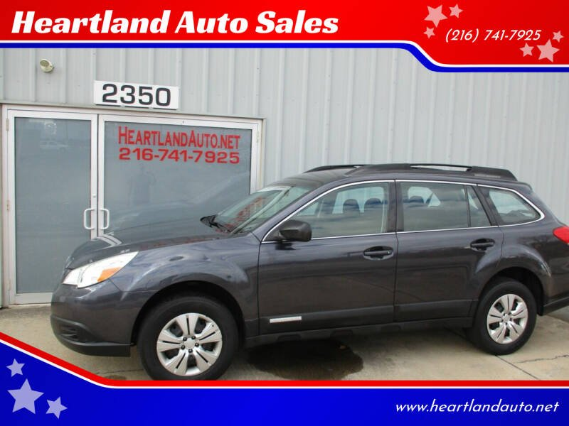 2011 Subaru Outback for sale at Heartland Auto Sales in Medina OH