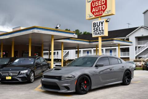 2017 Dodge Charger for sale at Houston Used Auto Sales in Houston TX