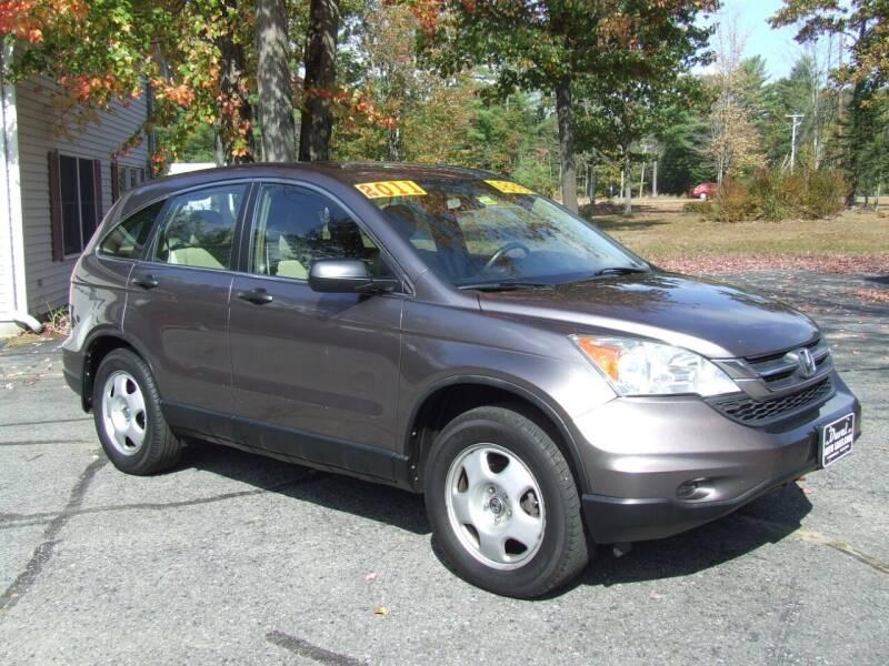 2011 Honda CR-V for sale at DUVAL AUTO SALES in Turner ME