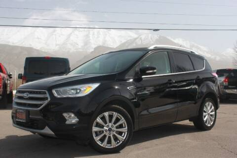 2017 Ford Escape for sale at REVOLUTIONARY AUTO in Lindon UT