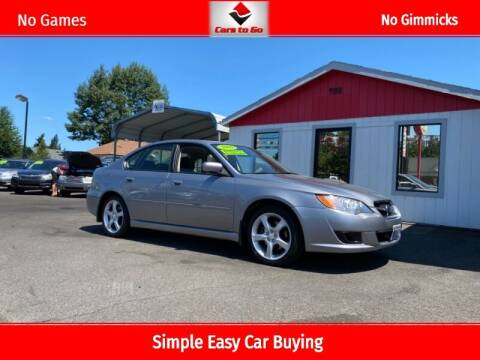 2009 Subaru Legacy for sale at Cars To Go in Portland OR