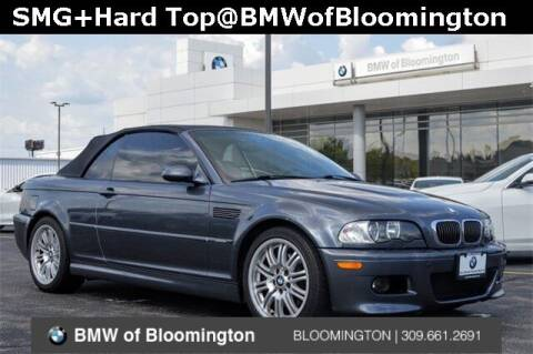 2002 BMW M3 for sale at Sam Leman Mazda in Bloomington IL