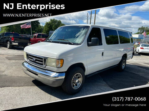 2003 Ford E-Series Wagon for sale at NJ Enterprises in Indianapolis IN