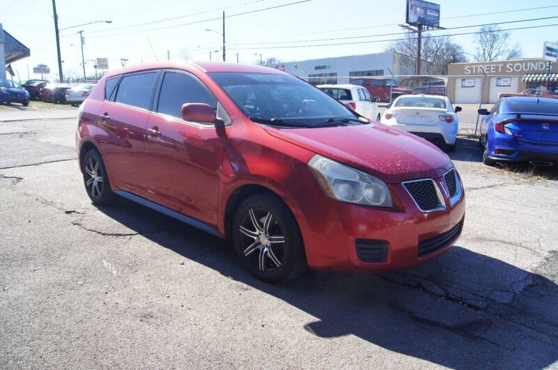 2010 Pontiac Vibe for sale at Green Ride Inc in Nashville TN
