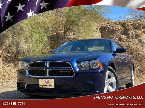 2013 Dodge Charger for sale at Baba's Motorsports, LLC in Phoenix AZ