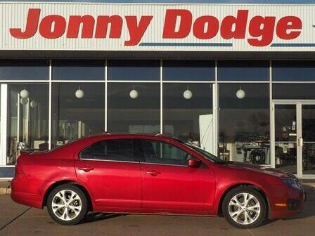 2012 Ford Fusion for sale at Jonny Dodge Chrysler Jeep in Neligh NE