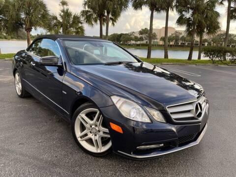 2012 Mercedes-Benz E-Class for sale at Vogue Auto Sales in Pompano Beach FL