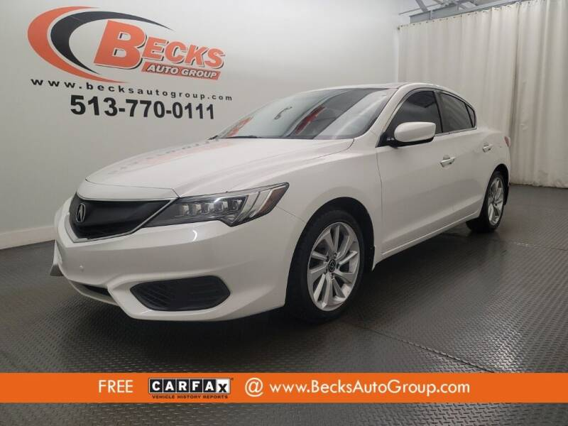 2016 Acura ILX for sale at Becks Auto Group in Mason OH