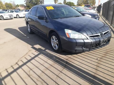 2006 Honda Accord for sale at COMMUNITY AUTO in Fresno CA